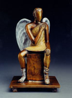 David Pearson: Seated Angel